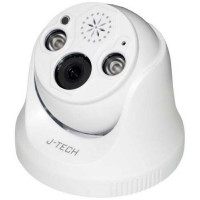 Camera IP Dome ( chưa có Adaptor ) J-Tech SHDP5285E0 (5MP / PoE / Human Detect / Face ID)