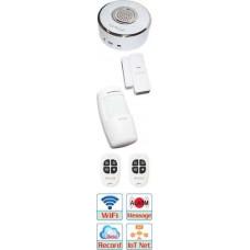 Hệ thống báo trộm Shuji SJ-A500 ( Wifi 2.4GHz )