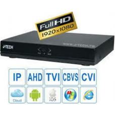 Đầu ghi hỗn hợp J-Tech UHY6604 ( H.265+ / 4K / 8MP )