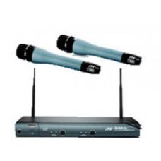 Bộ micro không dây cầm tay (2 mic) hiệu JTS MH-900+US-852DPro