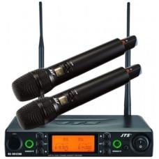 Bộ micro không dây cầm tay (2 mic) hiệu JTS RU-8012DB+RU850LTH