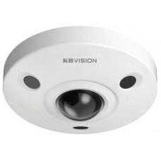 Camera 360° cho góc quan sát toàn diện phù hợp với những dự án cho ngân hàng , siêu thị , bệnh viện ..... Kbvision model KRA-IP0412FNIR