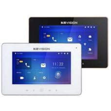 Màn hình cảm ứng TFT LCD 7inch, Tích hợp 5 nút nhấn cảm ứng. Kbvision KX-VDP01HWN