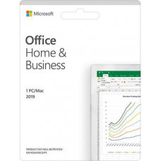 Phần mềm Office Home and Business 2019 English APAC EM Medialess P6