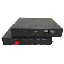 Bộ chuyển HDMI sang quang Compressed HDMI , SF SM SC 20KM , sup IR B&TON BT-101S-20T/R