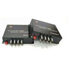 Bộ chuyển HDMI sang quang Compressed VGA+KVM , SF SM 20KM , sup IR B&TON BT-102KVMS-20T/R
