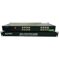 Bộ chuyển đổi video 16ch video+1ch data+1ch bidi audio B&TON BT-16V1D1A↑↓F-T/R