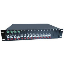 19 inch 2U Rack-mount 14/16slot , Dual Power AC110V-220V B& TON BT-2U-D220