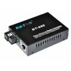 Bộ chuyển quang 1x1000M 131550nm WDM BiDi 20Km SC B&TON BT-950GS-20A