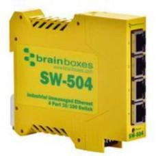 Bộ chia mạng 5-Port 10/100Base-TX Ethernet Switch, Plastic PLANET SW-504
