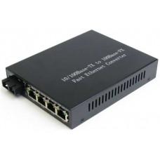 Bộ chuyển quang 1x1000M 1550/1490nm WDM BiDi 60Km SC Wintop YT-8110GSB-11-60B-AS