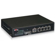 Bộ chia mạng Gigabit 4 x Gigabit-T(X) s and 2 x Gigabit-F(X) , SM, 20Km, SC WINTOP YT-DS106-2GF4GT