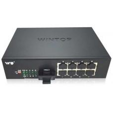 Bộ chia mạng 8 x 100m-T(X) s and 1 x 100m-F(X) , SM, 20Km, SC WINTOP YT-DS209-1F8T