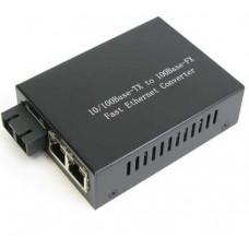 Bộ chia mạng Gigabit 1 x Gigabit-T(X) s and 1 x Gigabit-F(X) , Multi-mode , 500m , SC Wintop YT-MC102-1GF1GT(M)
