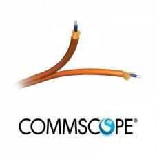 Cáp quang AMP Fiber 12-Fiber, OM3, Dielectric Jacket 1-1427452-3