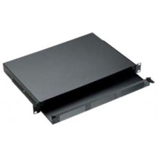 Khay tủ rack gắn cáp quang AMP , 1U , Unloaded 1435555-1
