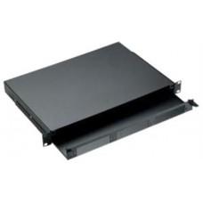 Khay tủ rack gắn cáp quang AMP , 2U , Light Metal , Unloaded 288234-1