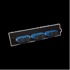 Bảng kết nối cổng quang AMP Duplex SC, 6-Fiber, SM 559558-2