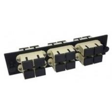 Bảng kết nối cổng quang AMP Duplex SC, 12-Fiber, MM 559596-1