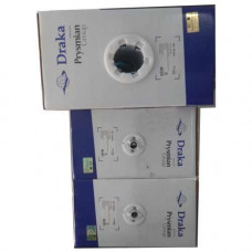 Cáp mạng Draka 52020GY Cáp U/UTP , Cat.5e , 4 đôi , CM (PVC) , 24 AWG , Solid , màu xám , 305m