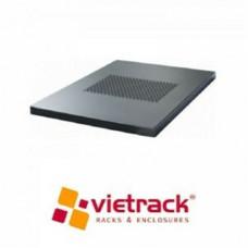 Khay cố định tủ mạng Vietrack Depth 450mm, Light Grey VRAF01G45