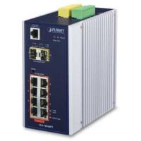 Bộ chia mạng công nghiệp Planet 8 Port 100/1000 POE + 2-port SFP IGS-10020PT