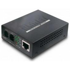 Bộ chuyển đổi tín hiệu mạng sang cáp điện thoại 2 dây hiệu Planet Ethernet Over VDSL2 Converter, Router VC-201A
