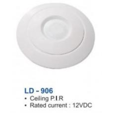 Đầu báo trộm hồng ngoại có dây (Ốp trần) Puratech LD-906