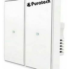 Điều khiển tắt mở 2 thiết bị điện thông minh Puratech, PRA523Z