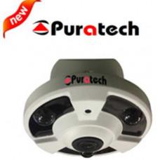 Camera AHD/TVI/CVI Puratech quan sát góc rộng PRC-181AH
