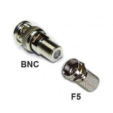 Bộ đầu jack BNC và F5 gắn camera Analog