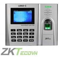 Máy chấm công vân tay / thẻ Zkteco U260C