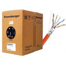 Cáp UTP Indoor , Cat.6 , 4 đôi , CM PVC LAN CABLE , 23 AWG , Solid , xám , 305m Rogenberger CP11-141-12