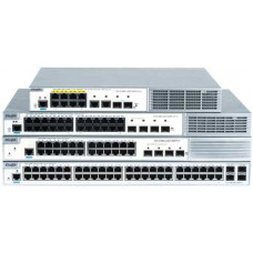 Bộ chia mạng Layer 2 Smart Managed PoE Switch 24 Cổng 10/100BASE-T công suất 185W Ruijie XS-S1920-24T2GT2SFP-LP-E