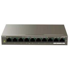Bộ chia mạng kèm nguồn POE hiệu TENDA TEF1110P 10 cổng POE