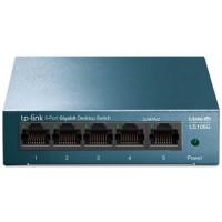 Bộ chia mạng TP Link LiteWave 5-Port Gigabit Desktop Switch, Desktop Steel Case LS105G