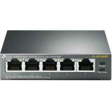 Bộ chia mạng cấp nguồn POE TP-LINK TL-SG1005P