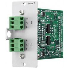 Module ngõ vào TOA model D-001T