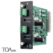 Module MIC/LINE dùng với D-901 TOA model D-921E