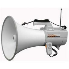Megaphone 30-45w có còi,  có chức năng micro không dây TOA model ER-2930W