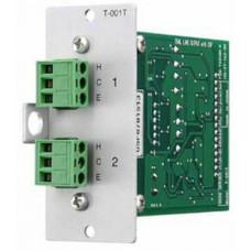 Modul ngõ ra âm thanh TOA model T001T