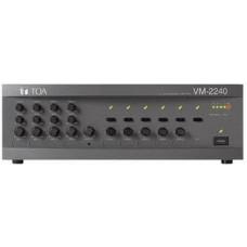 Tăng âm truyền thanh 120w - 5 vùng loa TOA model VM-2120