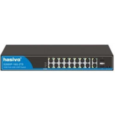 Switch PoE Gigabit 10/100/1000 Management HASIVO S2600WP-16G-2TS