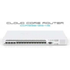 Bộ định tuyến 1U rackmount, 12x Gigabit Ethernet, 4xSFP cages, LCD  MIKROTIK CCCR1036-12G-4S