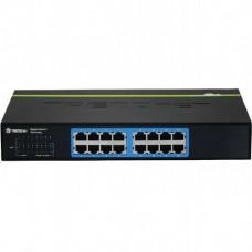 16-Port Gigabit GREENnet Desktop Switch /w metal case Trendnet TEG-S16Dg