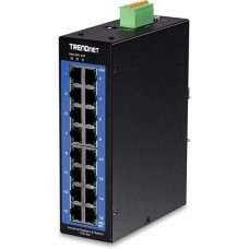 16-Port Industrial Gigabit L2 Managed DIN-Rail Switch Trendnet TI-G160i