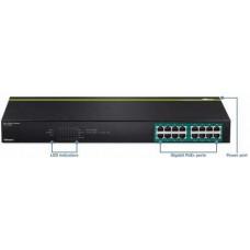 16-port GREENnet Gigabit PoE+ Switch (250W) Trendnet TPE-TG160g