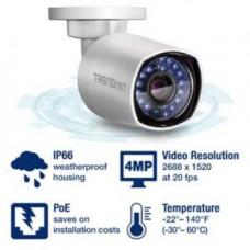 Camera quan sát Indoor / Outdoor 4 MP PoE Day/Night Network Camera Trendnet TV-IP314PI