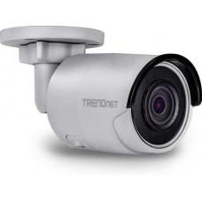 Camera quan sát Indoor/Outdoor 8MP 4K H.265 WDR PoE IR Bullet Network Camera Trendnet TV-IP318PI