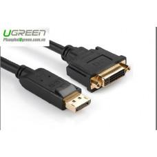 Bộ chuyển đổi cáp DP đực ra DVI cái model 20405 15CM Ugreen 20405